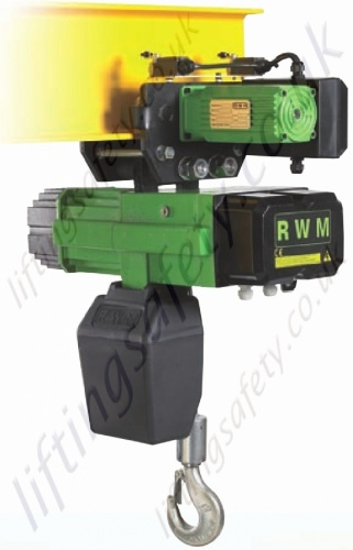 Rwm Wr Heavy Duty Electric Chain Hoists 400v 3 Phase 50