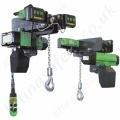 RWM Low Headroom Chain Hoist, 400V 3 phase 50 Hz-  Range from 125kg to 5000kg