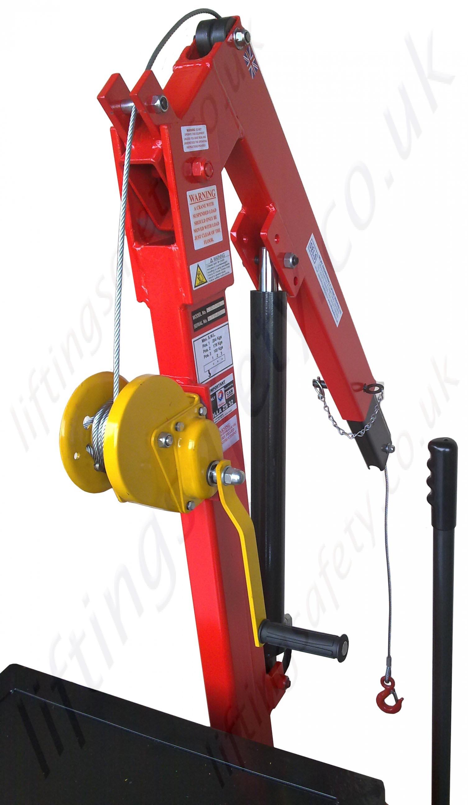 Pivoting Arm Counterbalance Workshop Floor Crane With