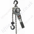 Ingersoll Rand Zinc Nickel Chrome Plated Industrial Lever Hoist - Range from 750kg to 6000kg