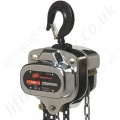 "Ingersoll Rand ""SMB"" Hand Chain Hoist, High Performance and Durable, Top Hook Suspended - Range from 500kg to 5000kg"