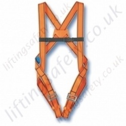 Tractel HT10 Standard Use Fall Arrest Harness with Rear 'D' Ring