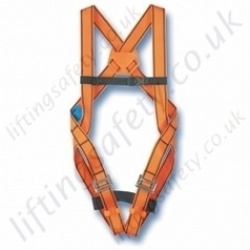 Tractel HT11 Standard Use Fall Arrest Harness With Sub-pelvic Strap, Rear 'D' Ring Connector