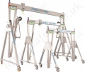 "Reid ""Porta-Gantry"" Light Weight Portable Aluminium Lifting Gantry with Castors, Range 500kg to 5000kg"