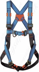 "Tractel ""HT22"" 2 Point Fall Arrest Harness With Front and Rear 'D' Rings - Standard Buckles"