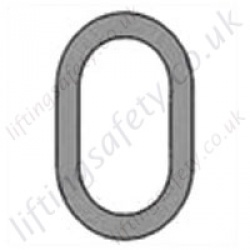 Grade 8 Oversize Master Link for use with 10mm to 16mm Lifting Chain