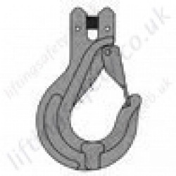 Grade 8 Clevis Sling Hook for use with 7mm to 20mm Lifting Chain