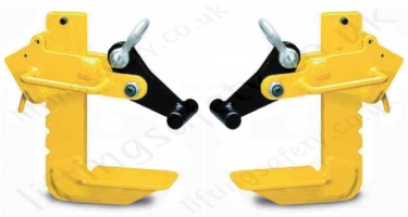 Large Jaw Flat Lift Clamps