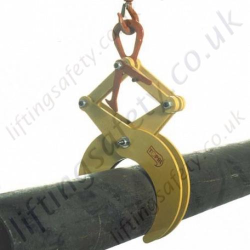 Topal rt round bar and pipe grab liftingsafety