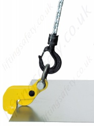Camlok THK 'Thin Sheet' Horizontal Plate Clamps, Range 750kg to 9000kg