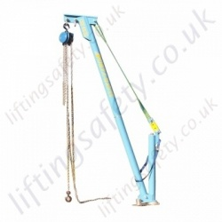 Lightweight Aluminium Portable Davit Arm - 350kg or 500kg