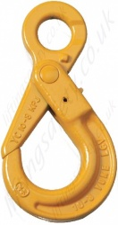 Grade 8 Eye Self-Locking Hook for use with 7mm to 28mm Lifting Chain