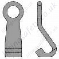 Grade 8 Barrel Hook for use with 7mm or 8mm Lifting Chain