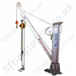 Reid Lifting PD1000 Porta-Davit Unique Lightweight and Portable Davit System, 1000kg