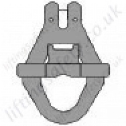 Grade 8 Clevis Skip Hook for use with 13mm Lifting Chain