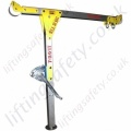 "LiftingSafety Aluminium ""T-Davit"" Designed Davits with WLL to 500kg And/Or Manriding"