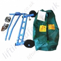 Aluminium Manhole Cover Lifter Available in Manual or Hydraulic Versions. Lightweight (Only 22kg) - 300kg Capacity