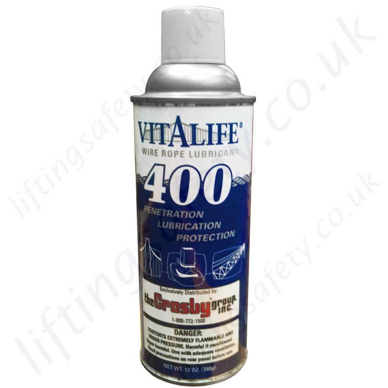 Wire Rope Lubricant - LiftingSafety