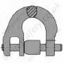 Half Coupling Link for use with 7mm to 26mm Lifting Chain