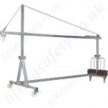 Mobile Man-riding Suspension Jibs for Temporary Suspended Platforms - 150kg to 1000kg SWL