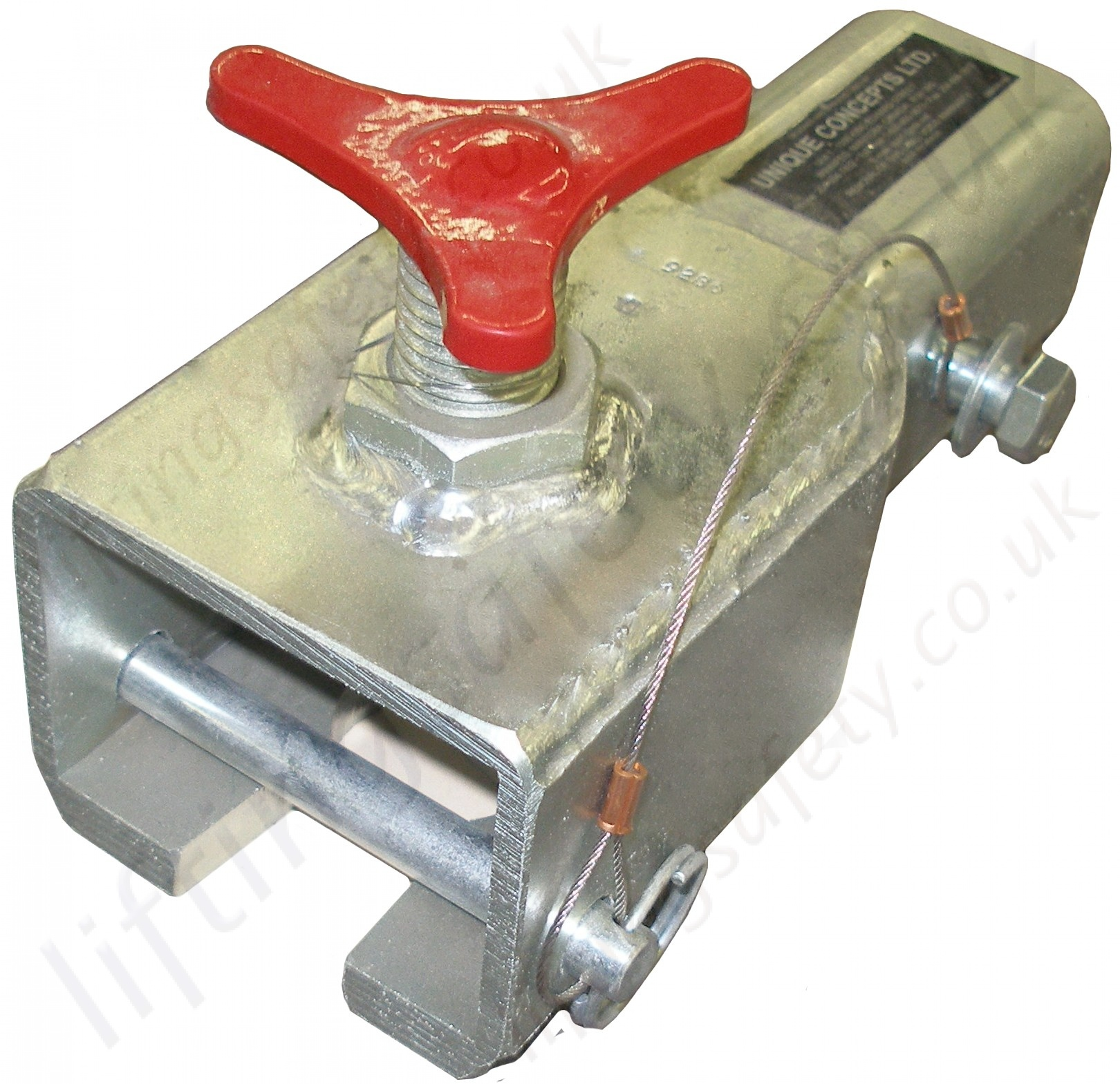 Expanding Joint Pin Coupler : Sala advanced quot vehicle hitch mounted davit arm fits on