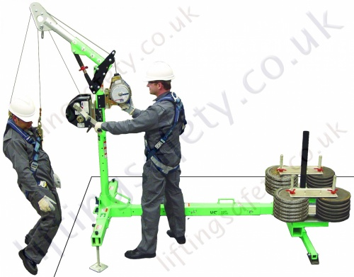 Advanced Counterweight Hoist system from Sala (UCL)