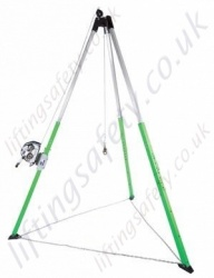 "Sala ""Advanced"" Lightweight Aluminium Tripod, 2.1 or 3 Metre Height Options with a Choice of Hoists and Fall Arrest Inertia reels."