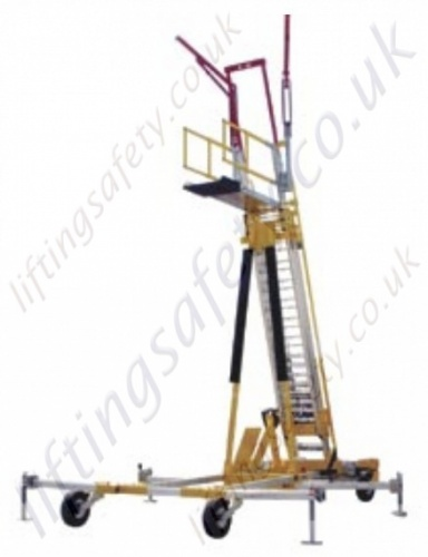 Free standing ladder access system