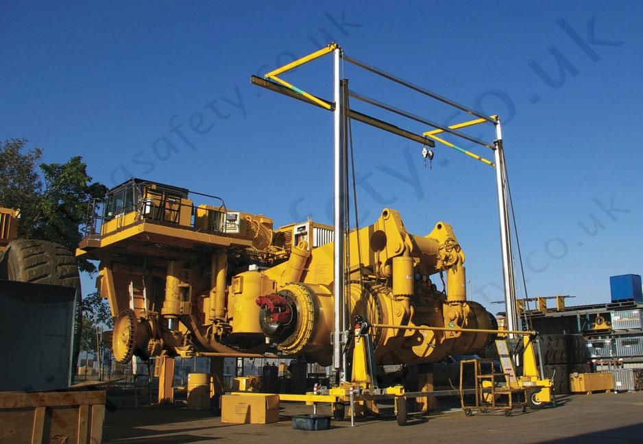 Sala Advanced Portable Fall Arrest Overhead Gantry Systems