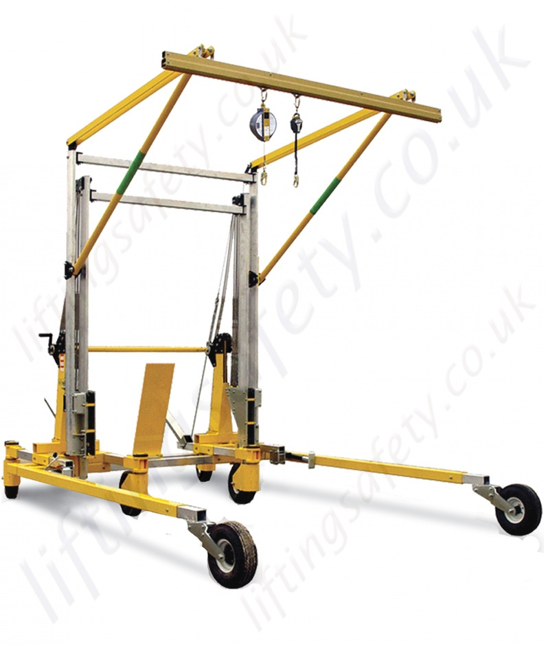 Sala Advanced Portable Fall Arrest Overhead Gantry Systems