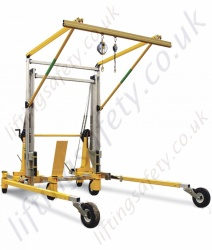 Sala Advanced Portable Fall Arrest Overhead Gantry systems. C/W Fall arrest Equipment and Adjustable in Height  to 11.7 metre Tall