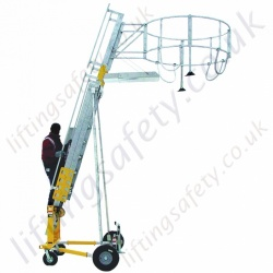 "Sala Advanced ""Portable Tanker Access Ladder"" System (PTALS) c/w Fall protection equipment and Height Adjustable to 6.5 metre Tall (various options)"