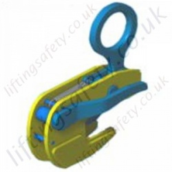 Camlok TTT Girder Section Clamp - Range from 500kg to 3000kg