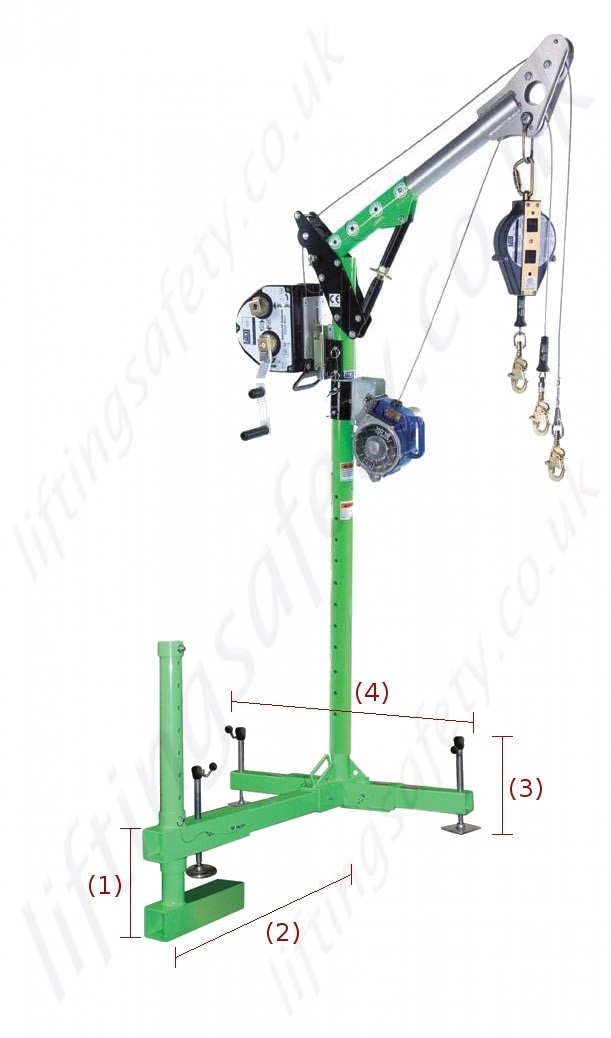 Sala Advanced Quot Catwalk Clamp Quot Davit Arm Designed To Clamp