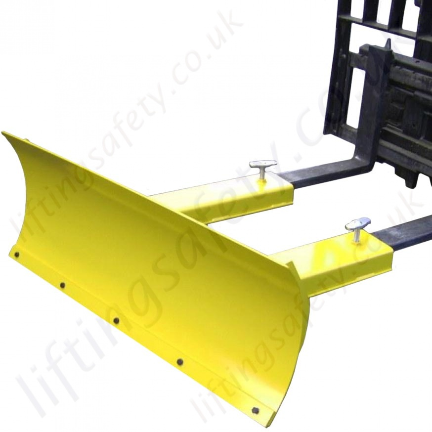 Used Forklift Snow Blades : Snow plough attachment for fork lift trucks shifts