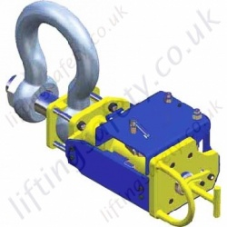Standard Remote Release Shackles - range from 150 tonne to over 1000 tonne.