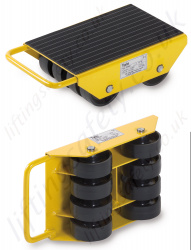 Yale LF Load Moving Skates with Fixed Wheels (Non Swivel) - Range from 1000kg to 6000kg (Five sizes)