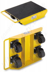 Yale LFL Load Moving Skates with Steerable Wheels - 1000kg Capacity