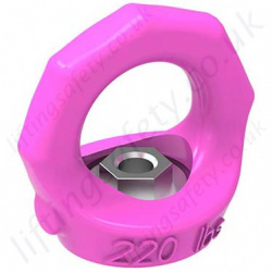 "RUD ""VRM"" Starpoint Rotating Eye Nuts. Metric Thread - Range from 0.1 to 4.5 tonne"