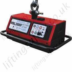 Battery Lifting Magnet, Electropermanent - Range from 1250kg to 2400kg