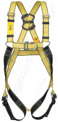 Yale Two Point Fall Arrest Harness with Front and Rear 'D' Rings