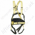 Yale Four Point Fall Arrest Harness with Rear 'D' Ring and 2 x Chest 'D' Rings and Work Positioning Belt