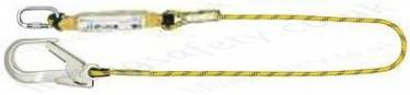Yale 1.5 or 2 Metre Rope Fall Arrest Lanyard