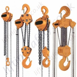 KITO Mighty M3 CB Series Manual Chain Hoists, Top Hook Suspended Range from 500kg to 30,000kg