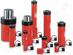 "Yale ""YS"" Universal Single Acting Cylinders. Several Height Options for Each Capacity - Range from 5000kg to 100,000kg (38 Options)"