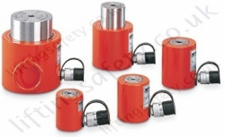 "Yale YLS / YFS Single Acting ""Low Height"" and ""Flat"" Lifting Cylinders - Range from 10,000kg to 100,000kg (10 options)"