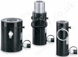"Yale YEL ""Locking Nut"" Single Acting Hydraulic Cylinders - Range from 30,000kg to 220,000kg"