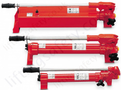Yale 'HPH' 700 Bar Double Acting 2 Stage Hydraulic Robust Steel Hand Pump. Reservoir From 700cc to 10,000cc (7 Options)