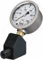 Yale Hand Pump Replacement Hydraulic Pressure Gauge. 0 - 1000 BAR, 63mm Diameter.