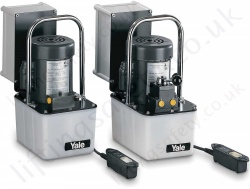 Yale 700 Bar. 2 Stage. 230v Electric Power Hydraulic Pump. Portable & Compact. Useable reservoir 6500cc/10000cc